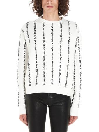 Enfants Riches Deprimes 'logo Stripe' Sweatshirt