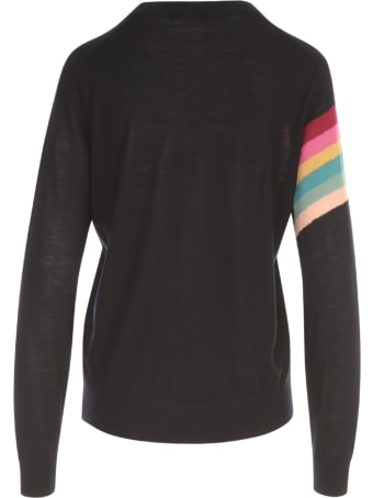 PS by Paul Smith Striped Crew Neck L/s Sweater