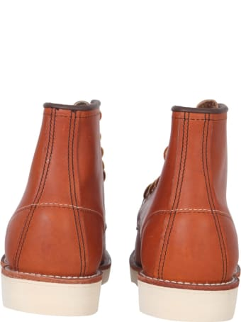Red Wing Moc Toe Lace-up Boots