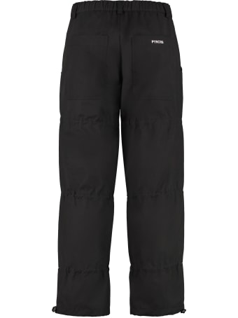 PTRCRS by Christian Petrini Cotton Ripstop Trousers