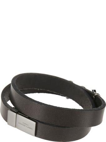 Saint Laurent Double Wrap Bracelet
