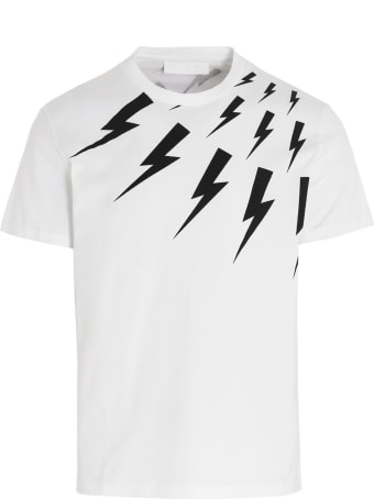 Neil Barrett 'thunderbolt' T-shirt