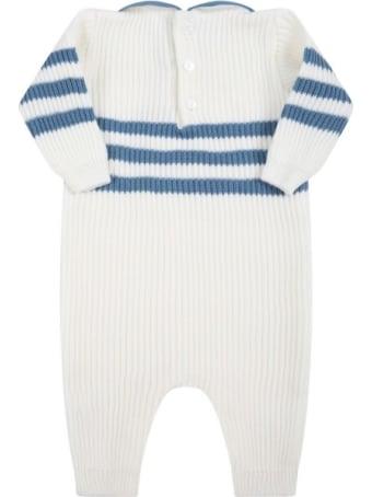 Little Bear Striped Onesie