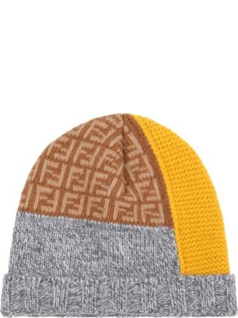 Fendi Multicolor Hat For Baby Boy