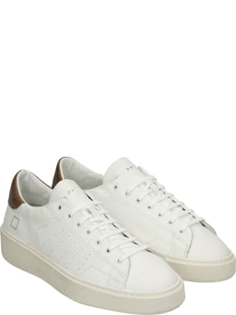 D.A.T.E. Levante Sneakers In White Leather