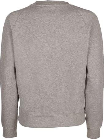 Maison Kitsuné All Right Fox Patch Vintage Sweatshirt