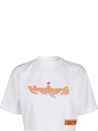 HERON PRESTON White Cotton T-shirt