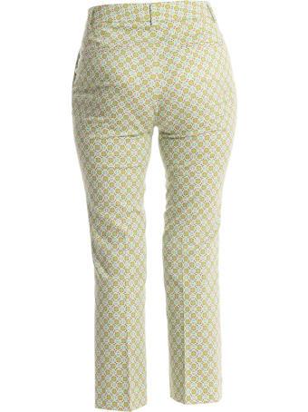 Via Masini 80 Fringed Leg Trousers