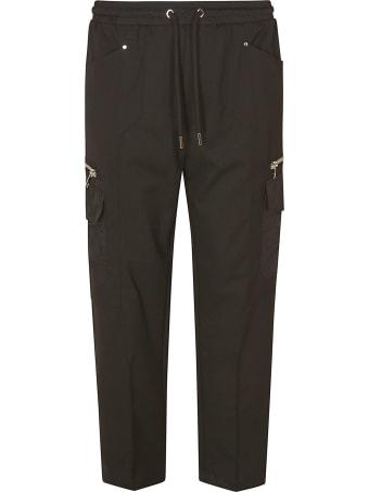 Les Hommes Gabardine Casual Trousers