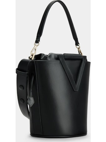 Roger Vivier Black Medium Rv Bucket Bag