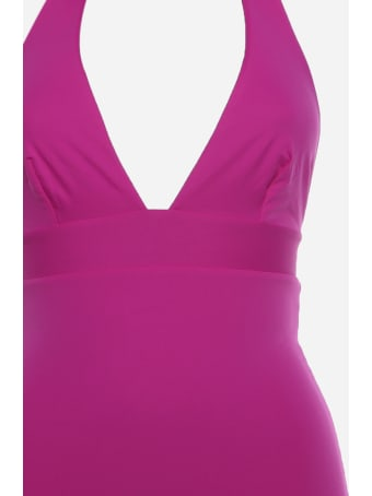 Fisico - Cristina Ferrari Reversible Two-tone One-piece Swimsuit