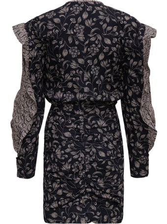 Isabel Marant Étoile Lexini Floral Dress With Ruffles