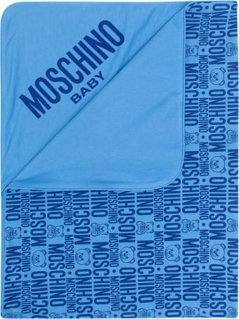 Moschino Blue Blanket