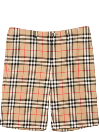 Burberry Vintage Check Shorts Teen