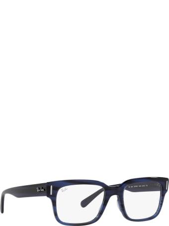 Ray-Ban Ray-ban Rx5388 Striped Blue Glasses