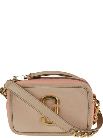 Marc Jacobs Top Zip Logo Plaque Camera Bag