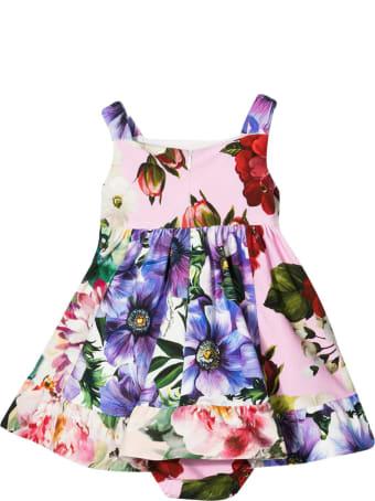 Dolce & Gabbana Newborn Floral Dress