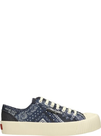 Superga Sneakers In Blue Canvas
