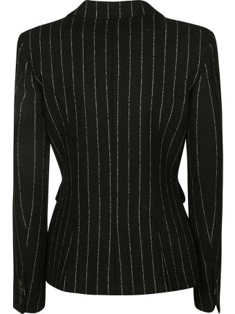 Moschino Stripe Patterned Dinner Jacket