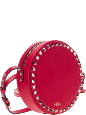 Valentino Round Rockstud Shoulder Bag