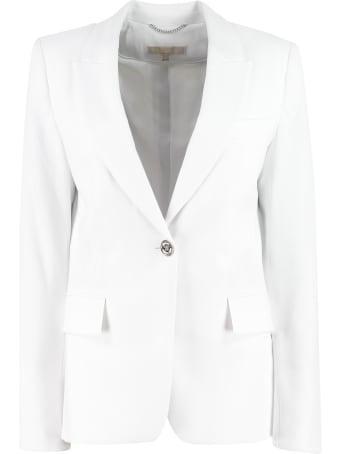 Michael Kors Crepe Single-breasted Blazer Michael Kors