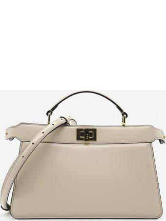 Fendi Peekaboo Iseeu East-west Leather Bag