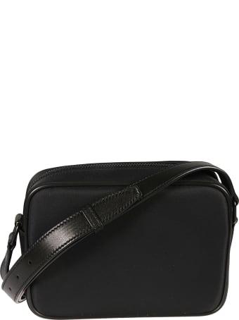 Saint Laurent Front Zip Pocket Shoulder Bag