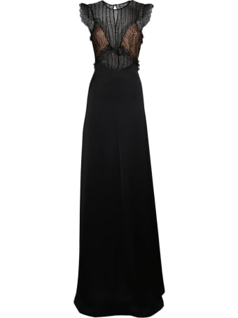 Genny Long Embroidered Dress