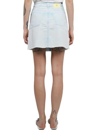 PT01 Pt Torino Light Blue Ella Skirt