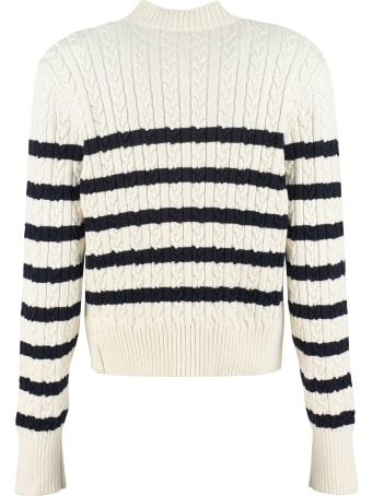 Moncler Cable Knit Pullover