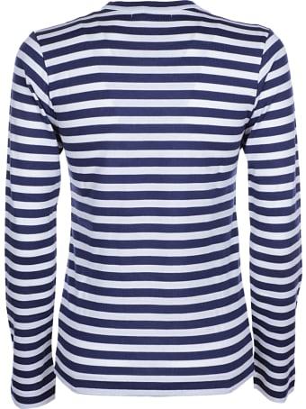 Comme des Garçons Play Play Striped T-shirt