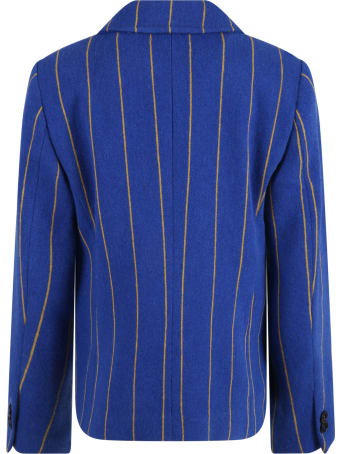Philosophy di Lorenzo Serafini Multicolor Jacket For Girl With Patch