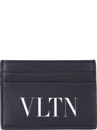 Valentino Garavani Branded Card Holder