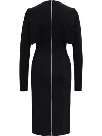 Givenchy Black Dress With Cut-out Inserts