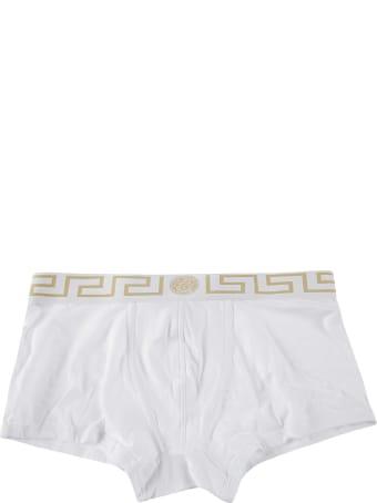 Versace Low Rise Logo Boxer Shorts