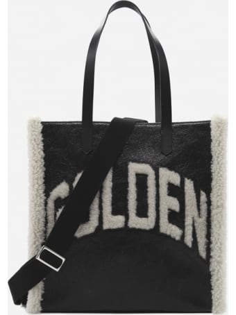 Golden Goose California North-south Bag With Sheepskin Inserts