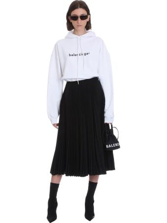 Balenciaga Skirt In Black Polyester