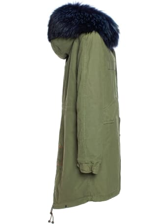 Mr & Mrs Italy Parka With Dyed Coyote Fur