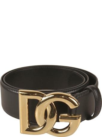 Dolce & Gabbana Logo Buckled Belt