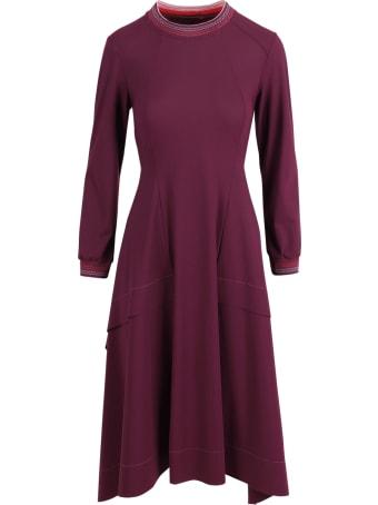 High 'devotee' Polyammide Dress