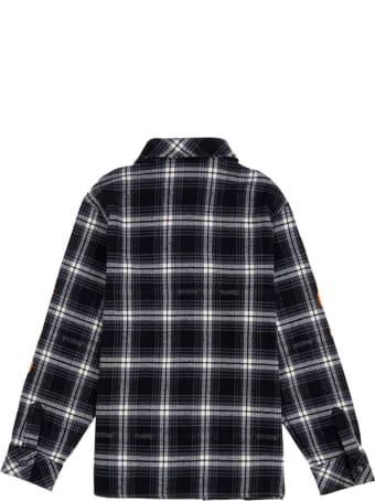 Off-White Diagonal Check Flannel Shirt