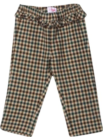 Il Gufo Checked Trousers With Print