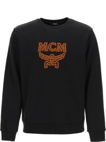 MCM Crewneck Sweatshirt With Logo