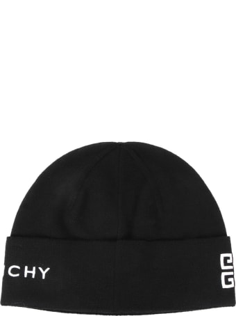 Givenchy Wool Cap With Logo