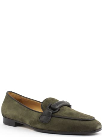 Roberto Festa Angie Green Suede Loafer