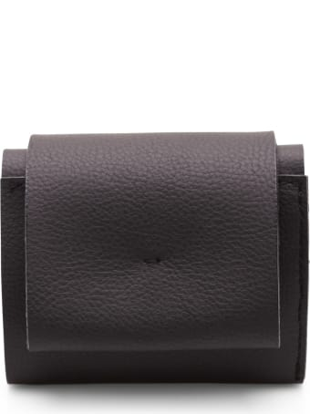 Zucca 'flap Aq364' Leather Wallet