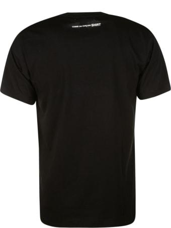 Comme des Garçons Regular Logo Print T-shirt