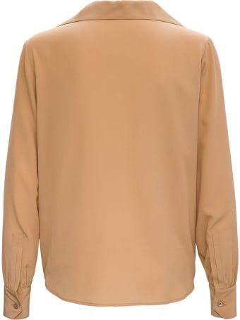 Saint Laurent Beige Crepe De Chine Shirt