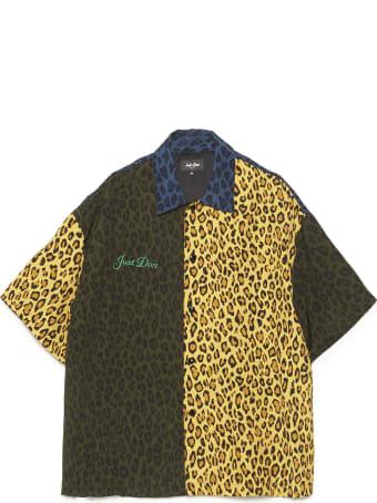 Just Don 'leopard Warm Up' Shirt