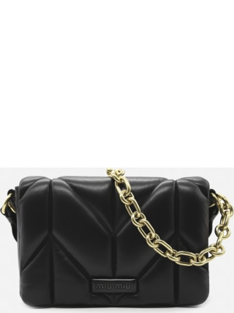 Miu Miu Shoulder Bag In Quilted Leather